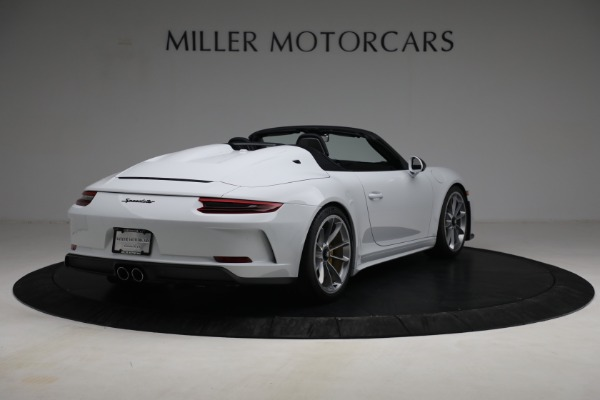 Used 2019 Porsche 911 Speedster for sale $395,900 at Alfa Romeo of Greenwich in Greenwich CT 06830 7