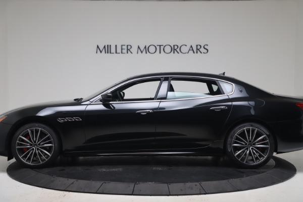 New 2022 Maserati Quattroporte Modena Q4 for sale $128,775 at Alfa Romeo of Greenwich in Greenwich CT 06830 3
