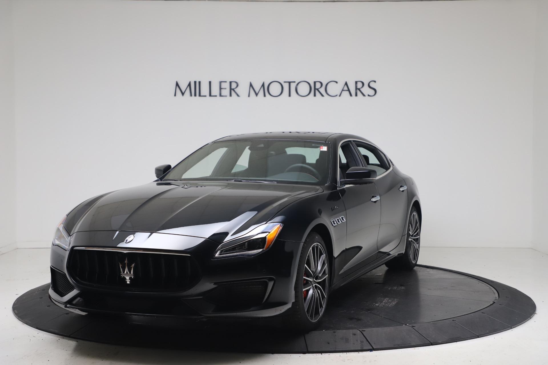 New 2022 Maserati Quattroporte Modena Q4 for sale $128,775 at Alfa Romeo of Greenwich in Greenwich CT 06830 1