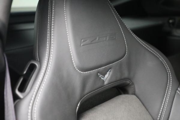 Used 2016 Chevrolet Corvette Z06 for sale $85,900 at Alfa Romeo of Greenwich in Greenwich CT 06830 25