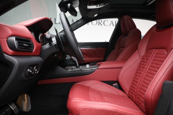 New 2022 Maserati Levante Trofeo for sale $155,045 at Alfa Romeo of Greenwich in Greenwich CT 06830 14