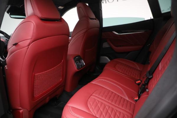 New 2022 Maserati Levante Trofeo for sale $155,045 at Alfa Romeo of Greenwich in Greenwich CT 06830 22