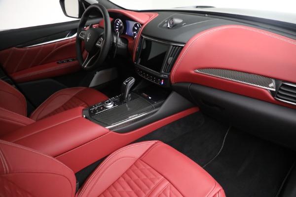 New 2022 Maserati Levante Trofeo for sale $155,045 at Alfa Romeo of Greenwich in Greenwich CT 06830 26