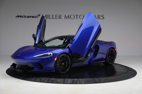 New 2022 McLaren GT Luxe for sale $228,080 at Alfa Romeo of Greenwich in Greenwich CT 06830 14