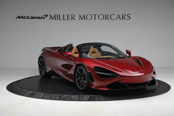 New 2022 McLaren 720S Spider for sale $382,090 at Alfa Romeo of Greenwich in Greenwich CT 06830 11