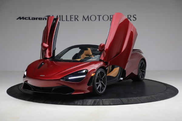 New 2022 McLaren 720S Spider for sale $382,090 at Alfa Romeo of Greenwich in Greenwich CT 06830 14
