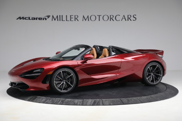 New 2022 McLaren 720S Spider for sale $382,090 at Alfa Romeo of Greenwich in Greenwich CT 06830 2