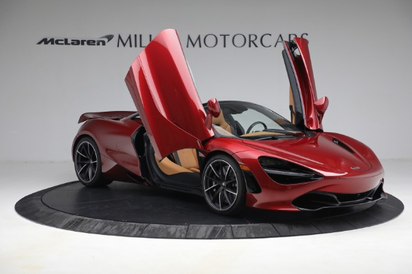 New 2022 McLaren 720S Spider for sale $382,090 at Alfa Romeo of Greenwich in Greenwich CT 06830 20