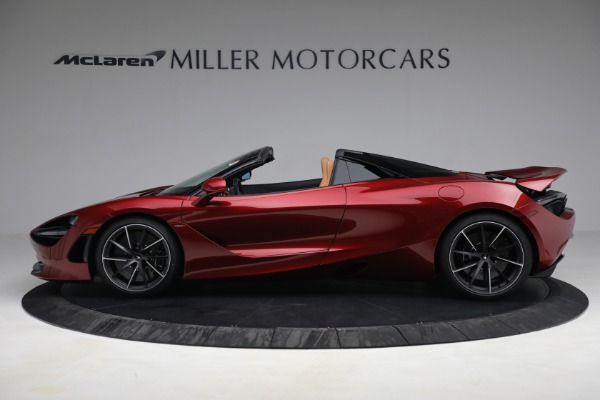 New 2022 McLaren 720S Spider for sale $382,090 at Alfa Romeo of Greenwich in Greenwich CT 06830 3