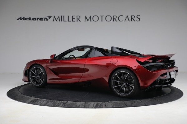 New 2022 McLaren 720S Spider for sale $382,090 at Alfa Romeo of Greenwich in Greenwich CT 06830 4