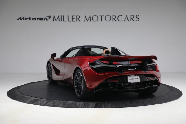 New 2022 McLaren 720S Spider for sale $382,090 at Alfa Romeo of Greenwich in Greenwich CT 06830 5