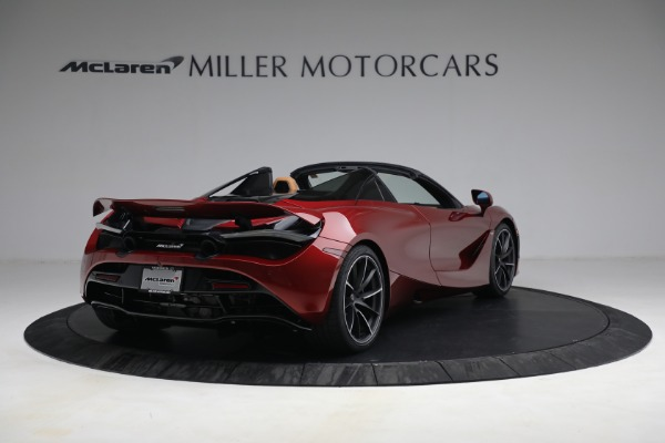 New 2022 McLaren 720S Spider for sale $382,090 at Alfa Romeo of Greenwich in Greenwich CT 06830 7