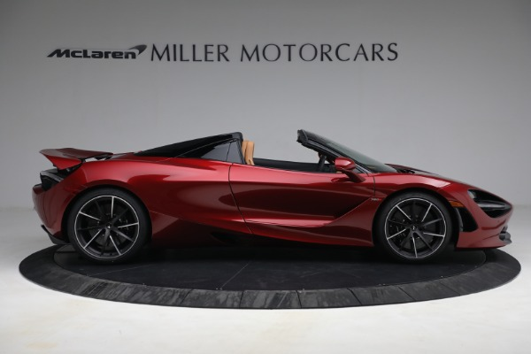 New 2022 McLaren 720S Spider for sale $382,090 at Alfa Romeo of Greenwich in Greenwich CT 06830 9