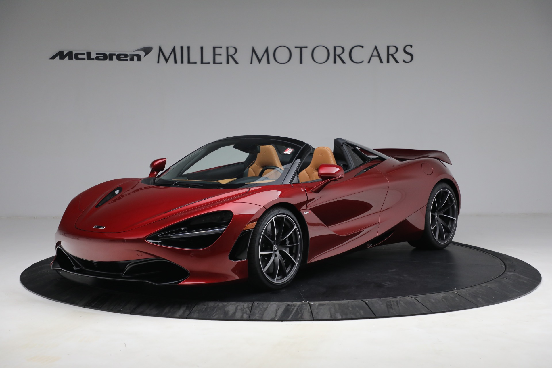New 2022 McLaren 720S Spider for sale $382,090 at Alfa Romeo of Greenwich in Greenwich CT 06830 1
