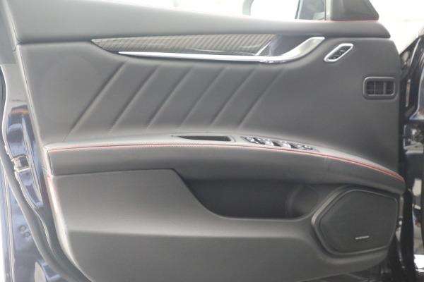 New 2022 Maserati Ghibli Modena Q4 for sale $103,855 at Alfa Romeo of Greenwich in Greenwich CT 06830 13
