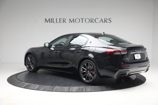 New 2022 Maserati Ghibli Modena Q4 for sale $103,855 at Alfa Romeo of Greenwich in Greenwich CT 06830 4