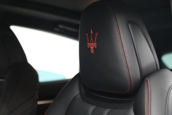 New 2022 Maserati Levante GT for sale Call for price at Alfa Romeo of Greenwich in Greenwich CT 06830 16