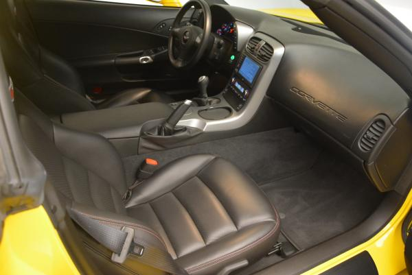 Used 2006 Chevrolet Corvette Z06 Hardtop for sale Sold at Alfa Romeo of Greenwich in Greenwich CT 06830 15