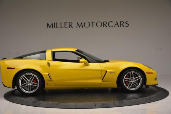 Used 2006 Chevrolet Corvette Z06 Hardtop for sale Sold at Alfa Romeo of Greenwich in Greenwich CT 06830 8