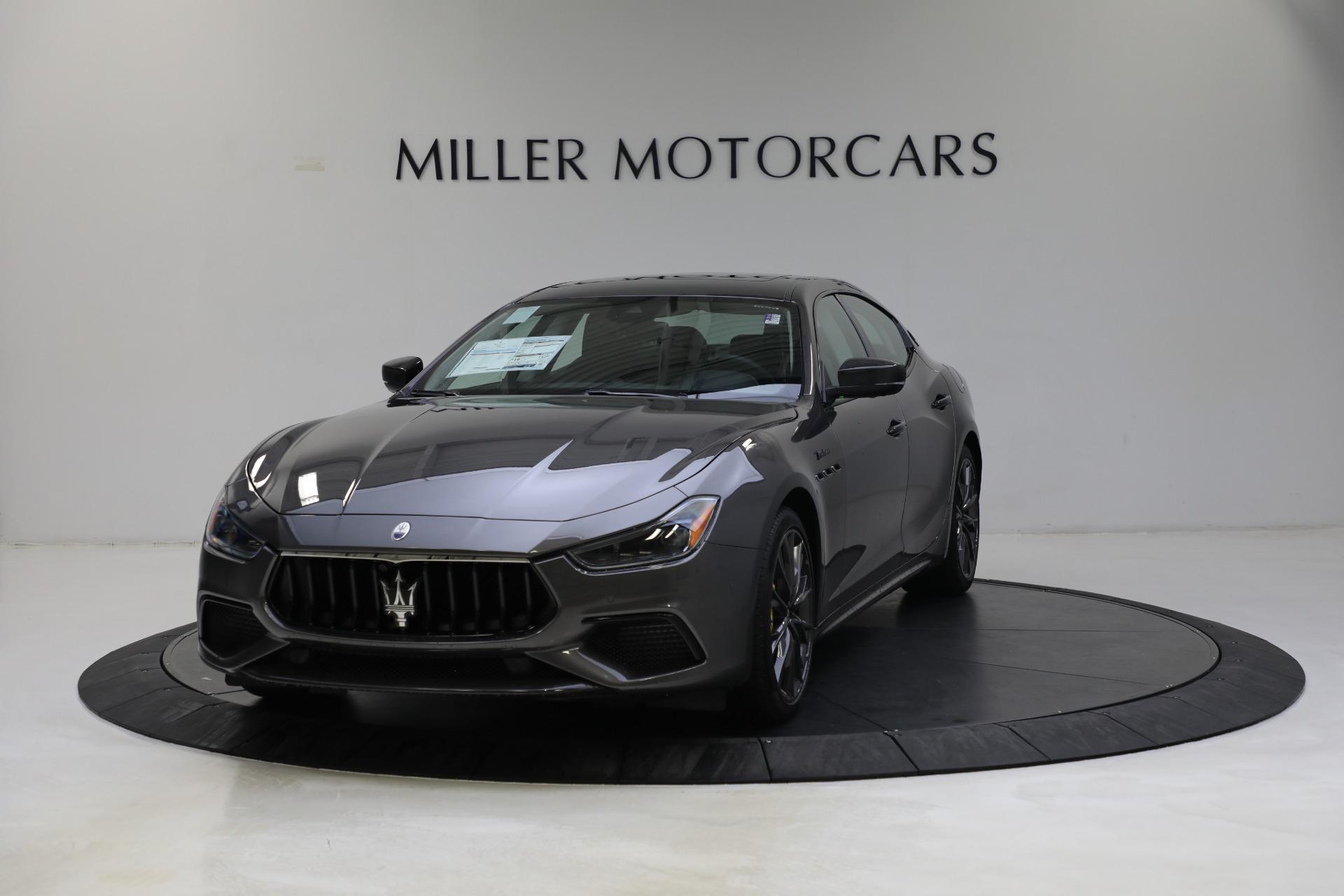 New 2022 Maserati Ghibli Modena Q4 for sale $103,855 at Alfa Romeo of Greenwich in Greenwich CT 06830 1