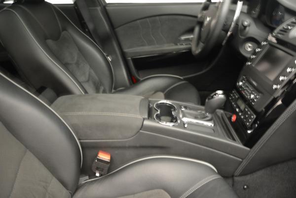 Used 2011 Maserati Quattroporte Sport GT S for sale Sold at Alfa Romeo of Greenwich in Greenwich CT 06830 23