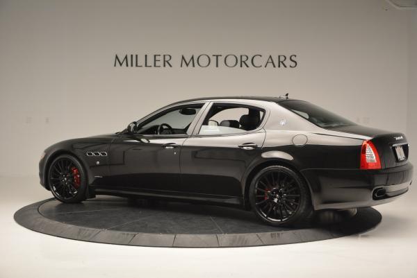 Used 2011 Maserati Quattroporte Sport GT S for sale Sold at Alfa Romeo of Greenwich in Greenwich CT 06830 4