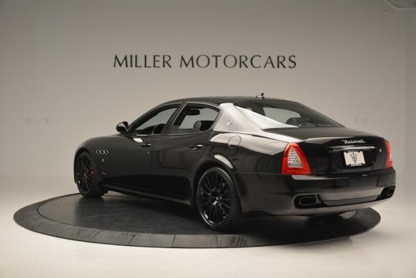 Used 2011 Maserati Quattroporte Sport GT S for sale Sold at Alfa Romeo of Greenwich in Greenwich CT 06830 5