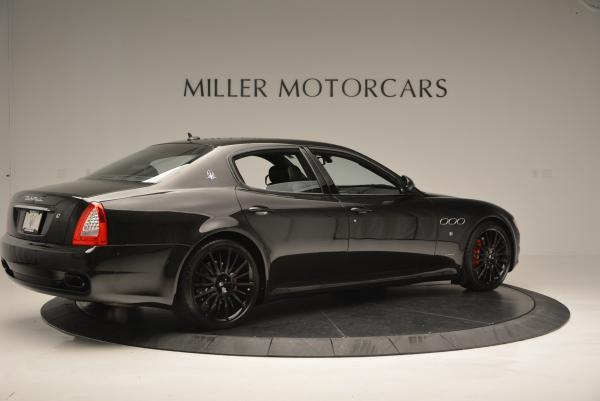 Used 2011 Maserati Quattroporte Sport GT S for sale Sold at Alfa Romeo of Greenwich in Greenwich CT 06830 8