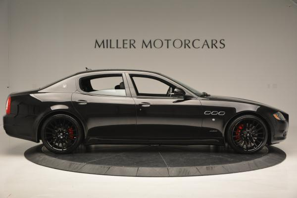 Used 2011 Maserati Quattroporte Sport GT S for sale Sold at Alfa Romeo of Greenwich in Greenwich CT 06830 9