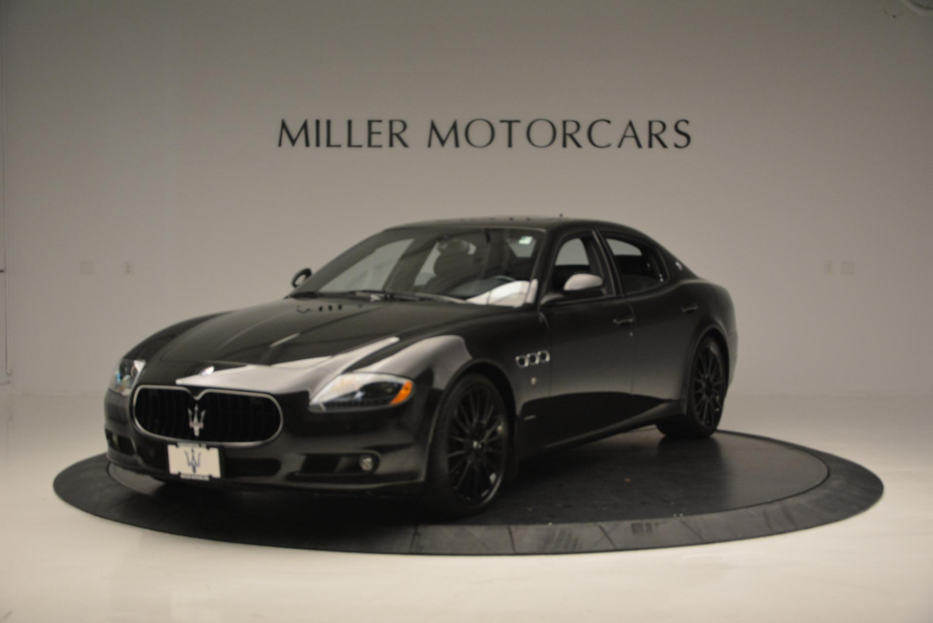 Used 2011 Maserati Quattroporte Sport GT S for sale Sold at Alfa Romeo of Greenwich in Greenwich CT 06830 1