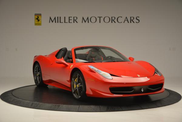 Used 2015 Ferrari 458 Spider for sale Sold at Alfa Romeo of Greenwich in Greenwich CT 06830 11