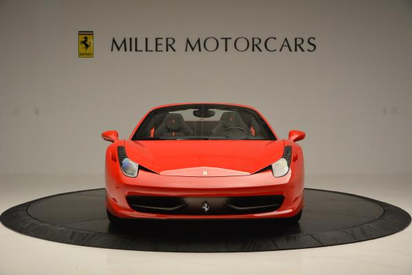 Used 2015 Ferrari 458 Spider for sale Sold at Alfa Romeo of Greenwich in Greenwich CT 06830 12