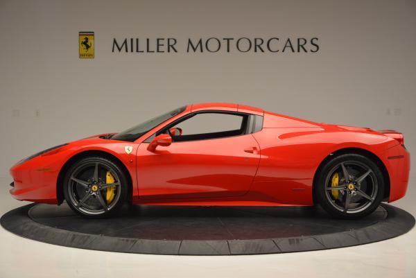 Used 2015 Ferrari 458 Spider for sale Sold at Alfa Romeo of Greenwich in Greenwich CT 06830 15