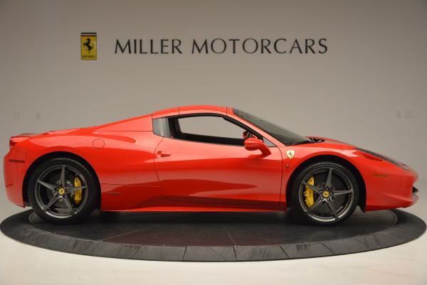 Used 2015 Ferrari 458 Spider for sale Sold at Alfa Romeo of Greenwich in Greenwich CT 06830 21
