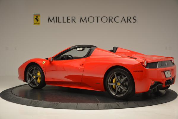 Used 2015 Ferrari 458 Spider for sale Sold at Alfa Romeo of Greenwich in Greenwich CT 06830 4