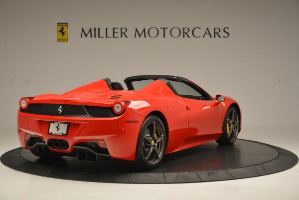 Used 2015 Ferrari 458 Spider for sale Sold at Alfa Romeo of Greenwich in Greenwich CT 06830 7