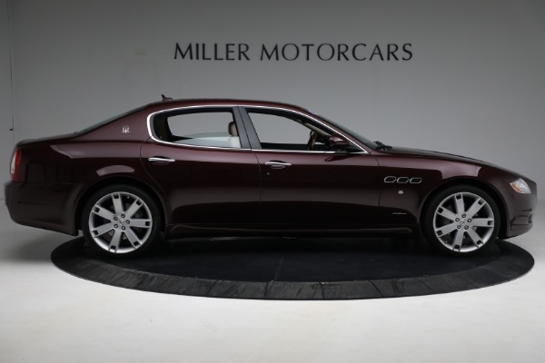 Used 2011 Maserati Quattroporte for sale $37,900 at Alfa Romeo of Greenwich in Greenwich CT 06830 10