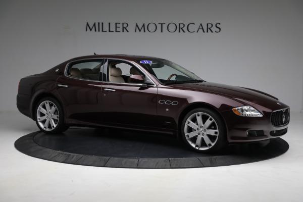 Used 2011 Maserati Quattroporte for sale Sold at Alfa Romeo of Greenwich in Greenwich CT 06830 11
