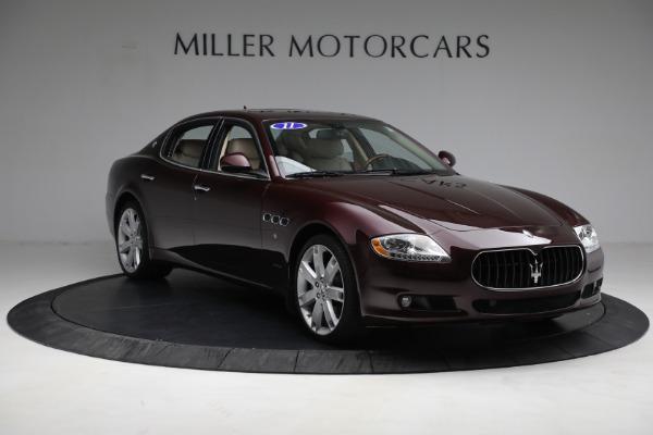 Used 2011 Maserati Quattroporte for sale Sold at Alfa Romeo of Greenwich in Greenwich CT 06830 12