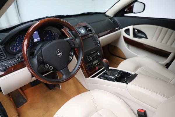 Used 2011 Maserati Quattroporte for sale Sold at Alfa Romeo of Greenwich in Greenwich CT 06830 14