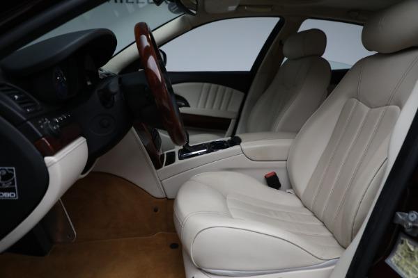 Used 2011 Maserati Quattroporte for sale Sold at Alfa Romeo of Greenwich in Greenwich CT 06830 15