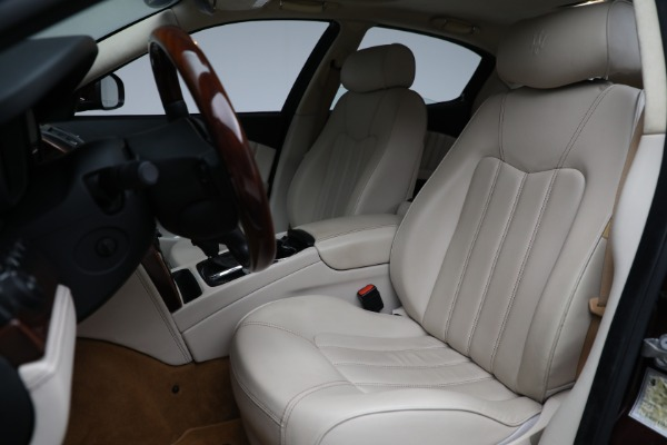 Used 2011 Maserati Quattroporte for sale Sold at Alfa Romeo of Greenwich in Greenwich CT 06830 16
