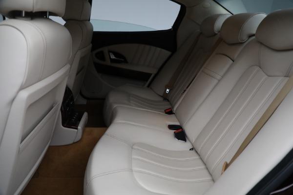 Used 2011 Maserati Quattroporte for sale Sold at Alfa Romeo of Greenwich in Greenwich CT 06830 19