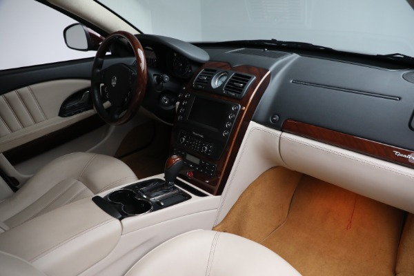 Used 2011 Maserati Quattroporte for sale $37,900 at Alfa Romeo of Greenwich in Greenwich CT 06830 22