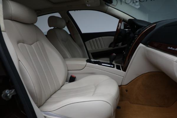 Used 2011 Maserati Quattroporte for sale $37,900 at Alfa Romeo of Greenwich in Greenwich CT 06830 23