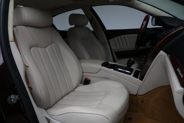 Used 2011 Maserati Quattroporte for sale Sold at Alfa Romeo of Greenwich in Greenwich CT 06830 24