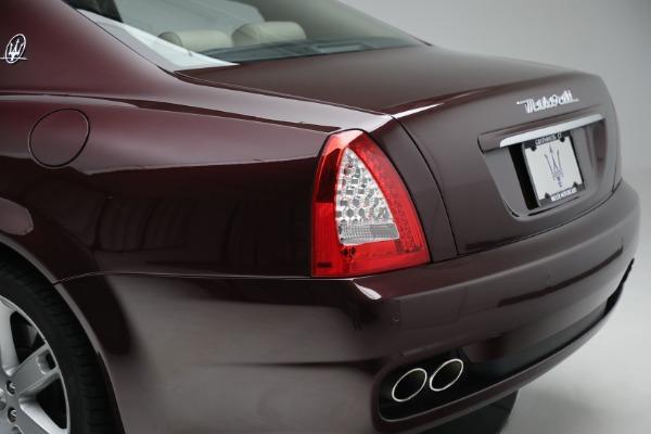 Used 2011 Maserati Quattroporte for sale $37,900 at Alfa Romeo of Greenwich in Greenwich CT 06830 25