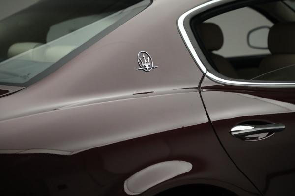 Used 2011 Maserati Quattroporte for sale $37,900 at Alfa Romeo of Greenwich in Greenwich CT 06830 26