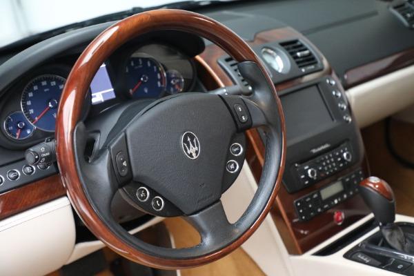 Used 2011 Maserati Quattroporte for sale Sold at Alfa Romeo of Greenwich in Greenwich CT 06830 27