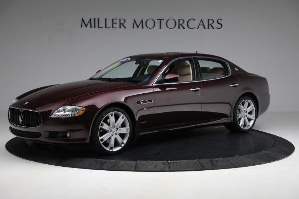 Used 2011 Maserati Quattroporte for sale $37,900 at Alfa Romeo of Greenwich in Greenwich CT 06830 3